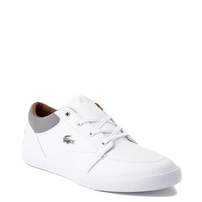 Alternate view of Mens Lacoste Bayliss Vulc Athletic Shoe - White