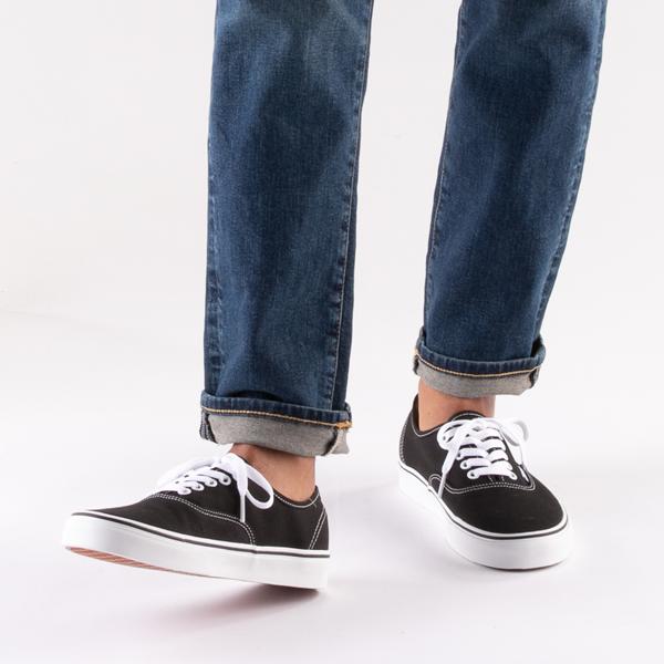 alternate view Vans Authentic Skate Shoe - BlackB-LIFESTYLE1