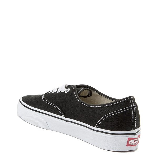 alternate view Vans Authentic Skate Shoe - Black / WhiteALT2