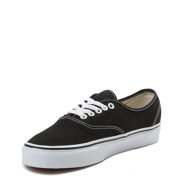 alternate view Vans Authentic Skate Shoe - Black / WhiteALT3