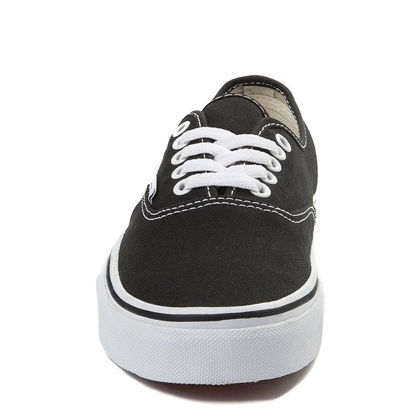 alternate view Vans Authentic Skate Shoe - Black / WhiteALT4