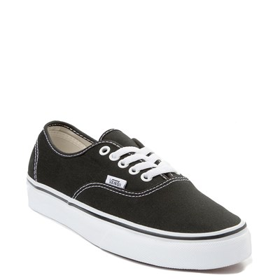 Alternate view of Black Vans Authentic Skate Shoe