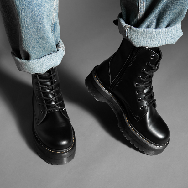 alternate view Dr. Martens Jadon Boot - BlackALT1C