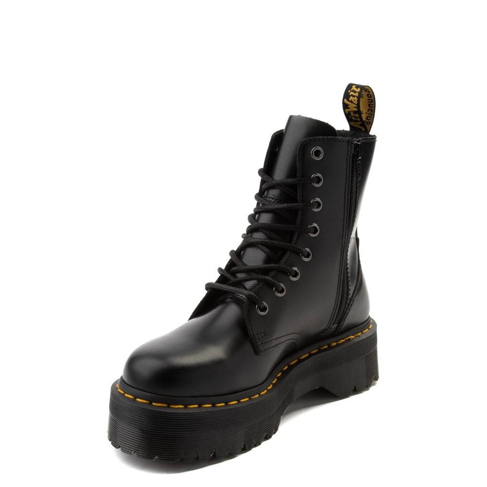 stabilna jakość nowe promocje autentyczna jakość Dr. Martens Jadon Boot - Black