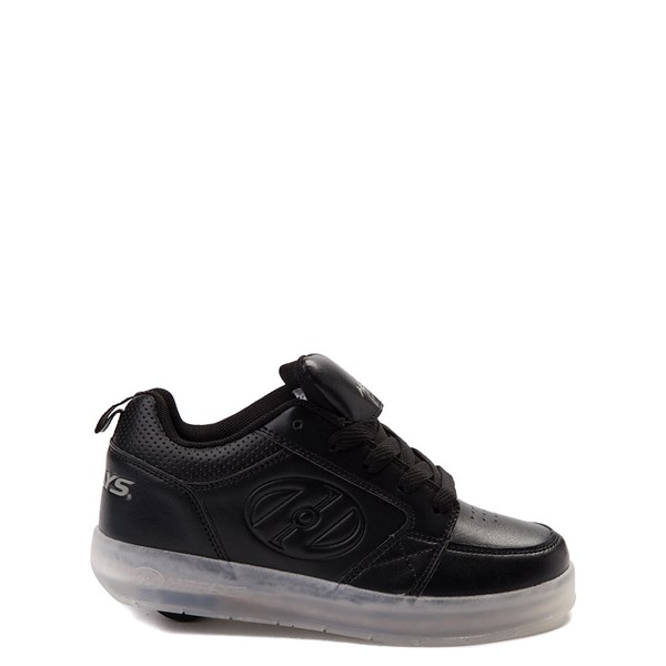 Mens Heelys Premium Lights Skate Shoe - Black