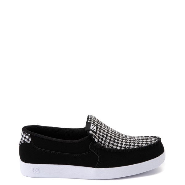 Main view of Womens DC Villain SE Skate Shoe - Black / White
