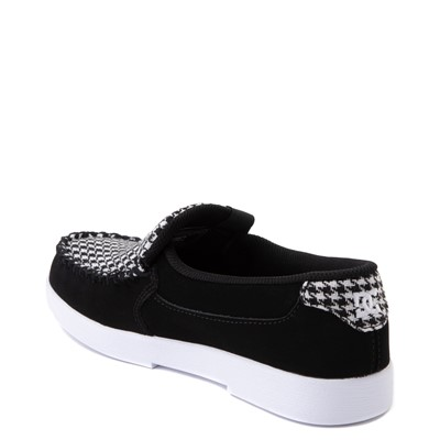 Alternate view of Womens DC Villain SE Skate Shoe - Black / White