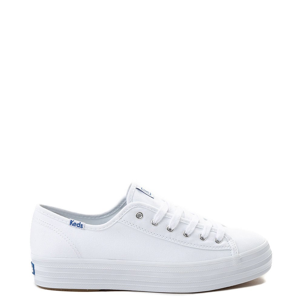 platform keds white
