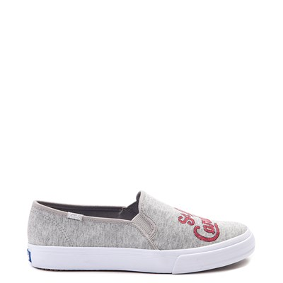 Main view of Womens Keds Double Decker MLB Cardinals™ Casual Shoe - Gray