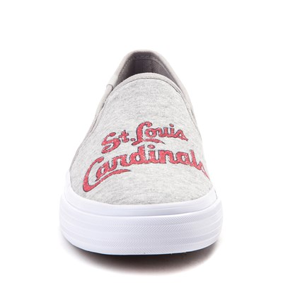 Alternate view of Womens Keds Double Decker MLB Cardinals™ Casual Shoe - Gray