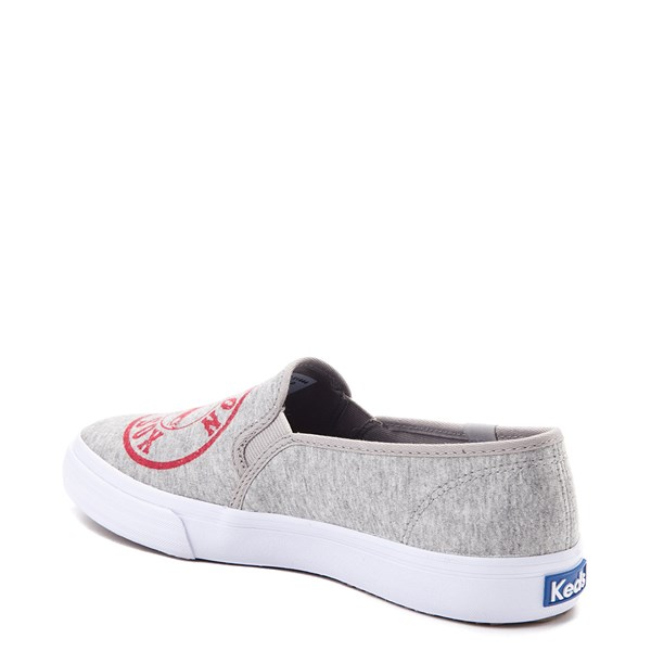 alternate view Womens Keds Double Decker MLB Red Sox™ Casual Shoe - GrayALT2
