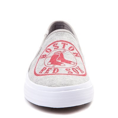 Alternate view of Womens Keds Double Decker MLB Red Sox™ Casual Shoe - Gray