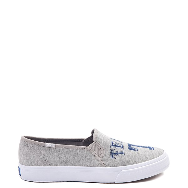 Womens Keds Double Decker MLB Rangers™ Casual Shoe - Gray