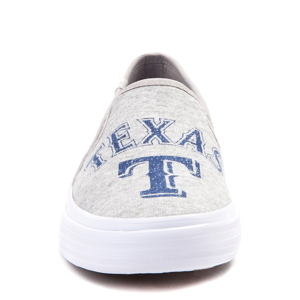 alternate view Womens Keds Double Decker MLB Rangers™ Casual Shoe - GrayALT1
