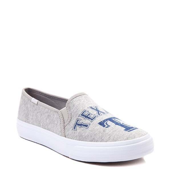 alternate view Womens Keds Double Decker MLB Rangers™ Casual Shoe - GrayALT1B
