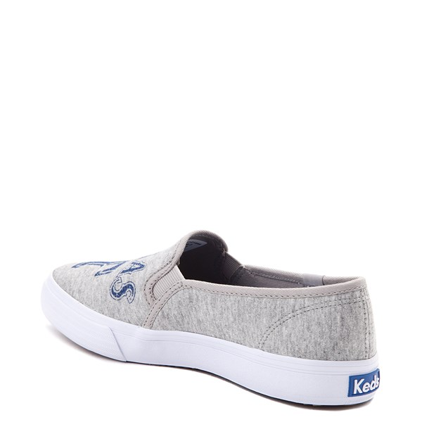 alternate view Womens Keds Double Decker MLB Rangers™ Casual Shoe - GrayALT2