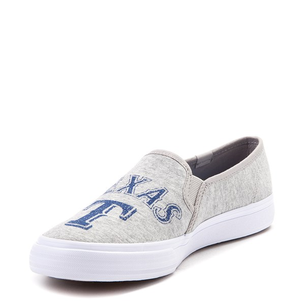 alternate view Womens Keds Double Decker MLB Rangers™ Casual Shoe - GrayALT3