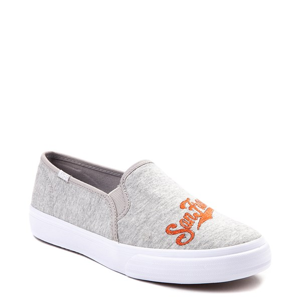 alternate view Womens Keds Double Decker MLB Giants™ Casual Shoe - GrayALT1B