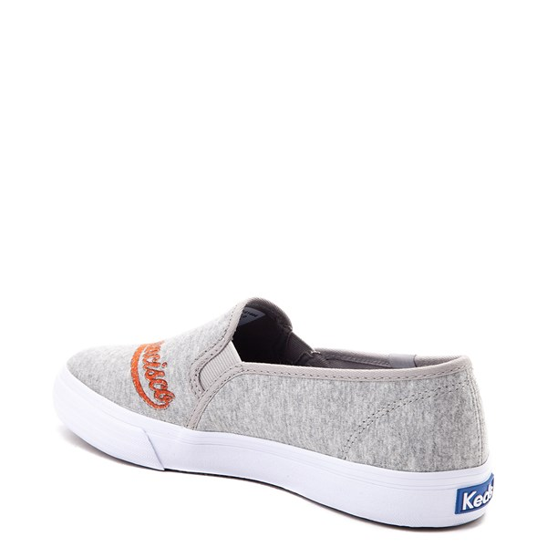 alternate view Womens Keds Double Decker MLB Giants™ Casual Shoe - GrayALT2