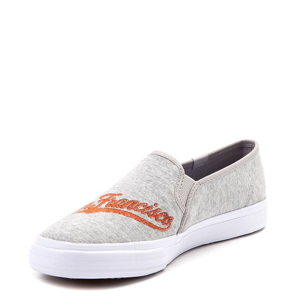 alternate view Womens Keds Double Decker MLB Giants™ Casual Shoe - GrayALT3