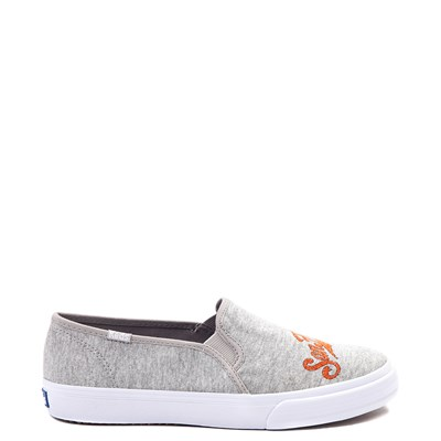 Main view of Womens Keds Double Decker MLB Giants™ Casual Shoe - Gray