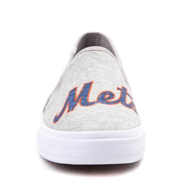 alternate view Womens Keds Double Decker MLB Mets™ Casual Shoe - GrayALT1