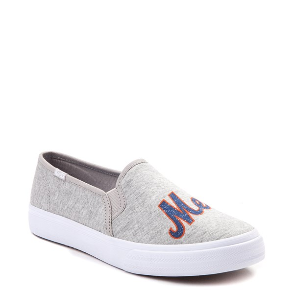 alternate view Womens Keds Double Decker MLB Mets™ Casual Shoe - GrayALT1B