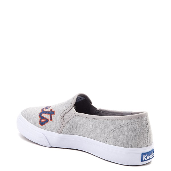 alternate view Womens Keds Double Decker MLB Mets™ Casual Shoe - GrayALT2