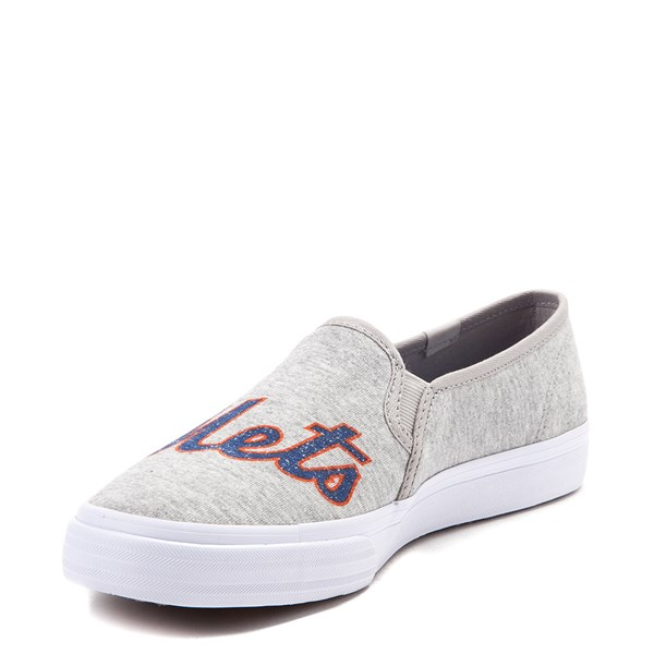 alternate view Womens Keds Double Decker MLB Mets™ Casual Shoe - GrayALT3