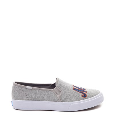 Main view of Womens Keds Double Decker MLB Mets™ Casual Shoe - Gray