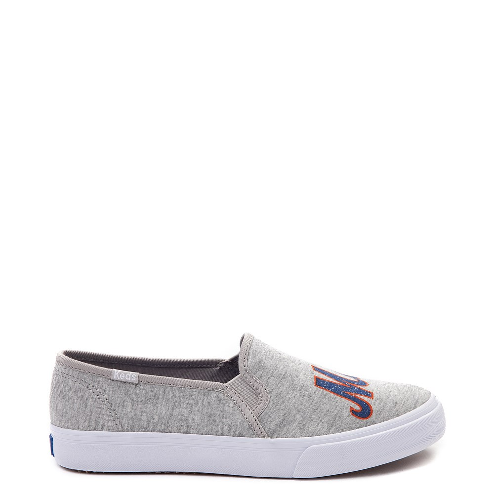 Womens Keds Double Decker MLB Mets™ Casual Shoe - Gray