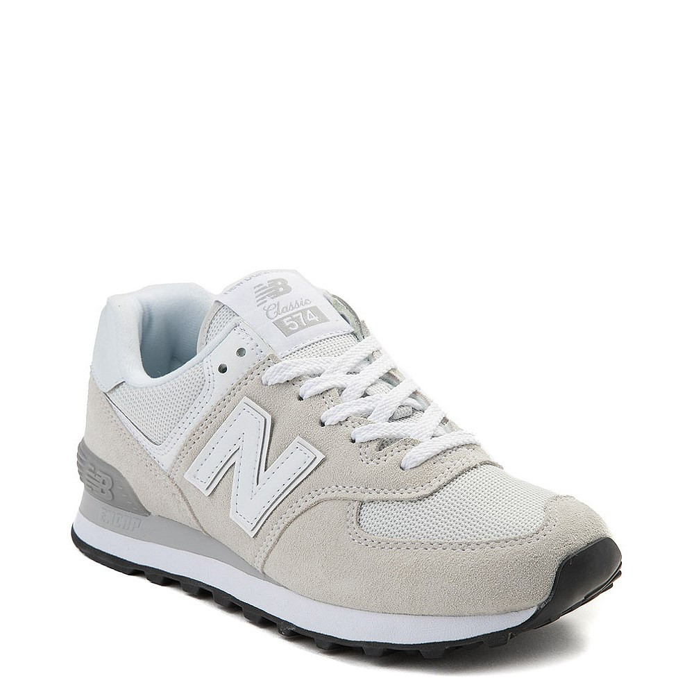 Damenschuhe Kleidung & Accessoires New Womens New Balance Pink 574 Sport Suede Trainers Retro Lace Up