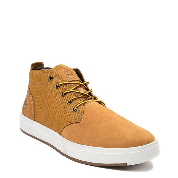 alternate view Mens Timberland Davis Square Chukka Boot - WheatALT1