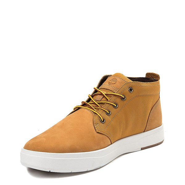 alternate view Mens Timberland Davis Square Chukka Boot - WheatALT3