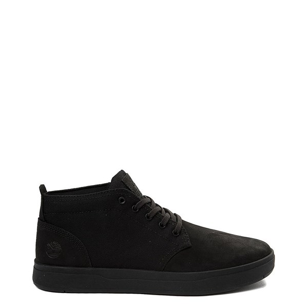 Main view of Mens Timberland Davis Square Chukka Boot - Black Monochrome