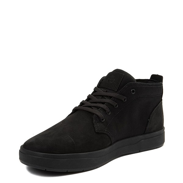 alternate view Mens Timberland Davis Square Chukka Boot - BlackALT3