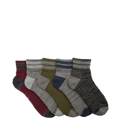 Main view of Mens Quarter Socks 5 Pack