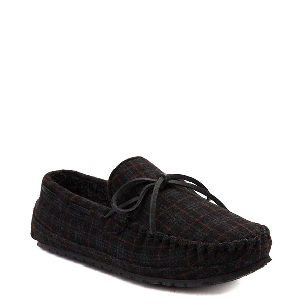 Alternate view of Mens Minnetonka Casey Plaid Slipper