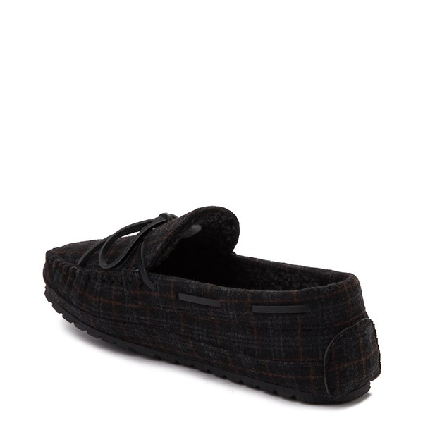 alternate view Mens Minnetonka Casey Plaid SlipperALT2