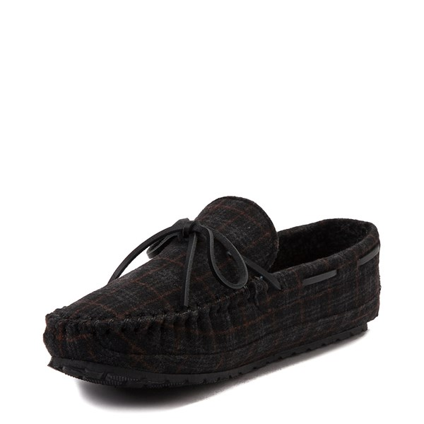 alternate view Mens Minnetonka Casey Plaid SlipperALT3