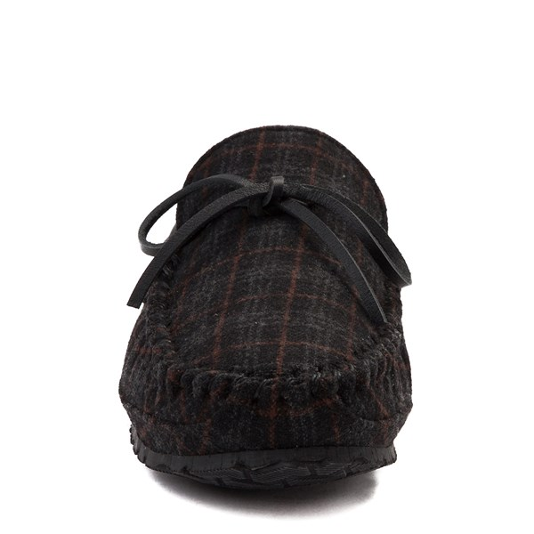 alternate view Mens Minnetonka Casey Plaid SlipperALT4