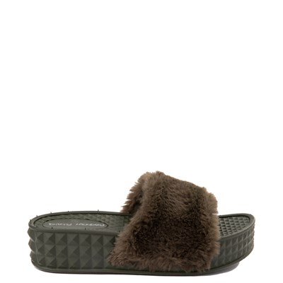 Main view of Womens Dirty Laundry Sonny Fur Slide
