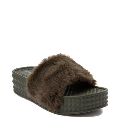 Alternate view of Womens Dirty Laundry Sonny Fur Slide