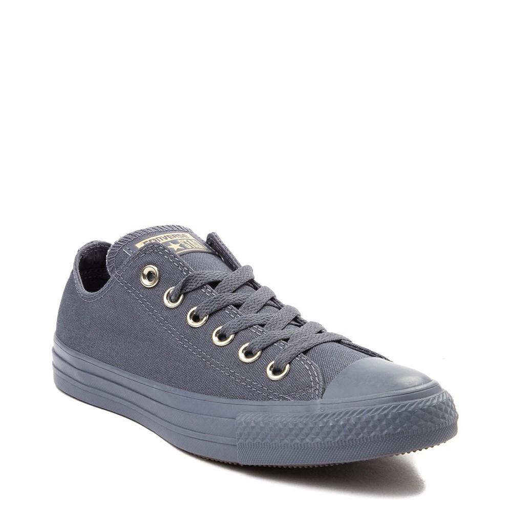 Womens Converse Chuck Taylor All Star Lo Lux Sneaker Medium Gray