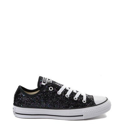 Main view of Womens Converse Chuck Taylor All Star Lo Glitter Sneaker