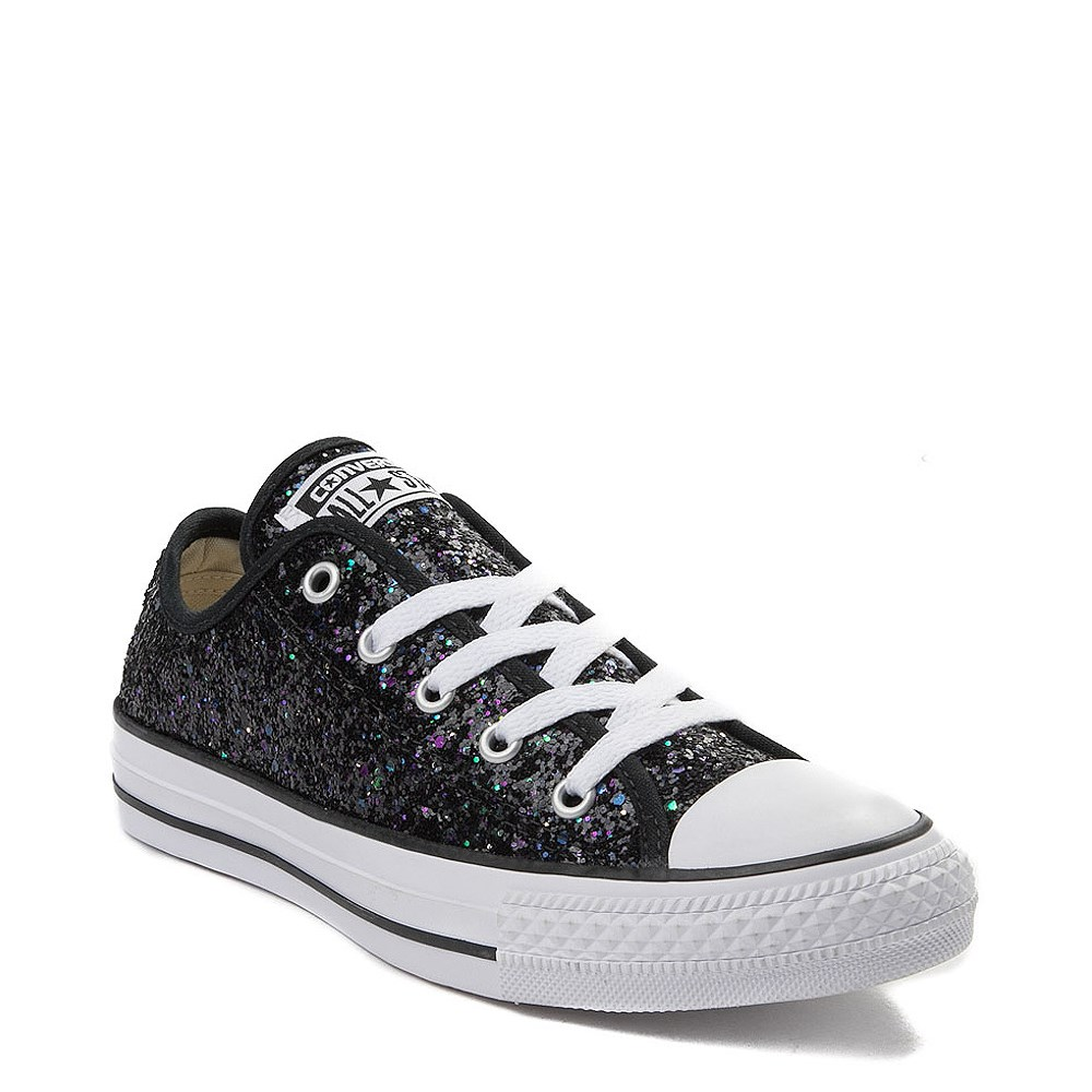 b6544760563b alternate view Womens Converse Chuck Taylor All Star Lo Glitter SneakerALT1