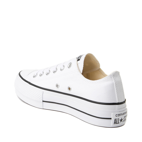 alternate view Womens Converse Chuck Taylor All Star Lo Platform Sneaker - WhiteALT1