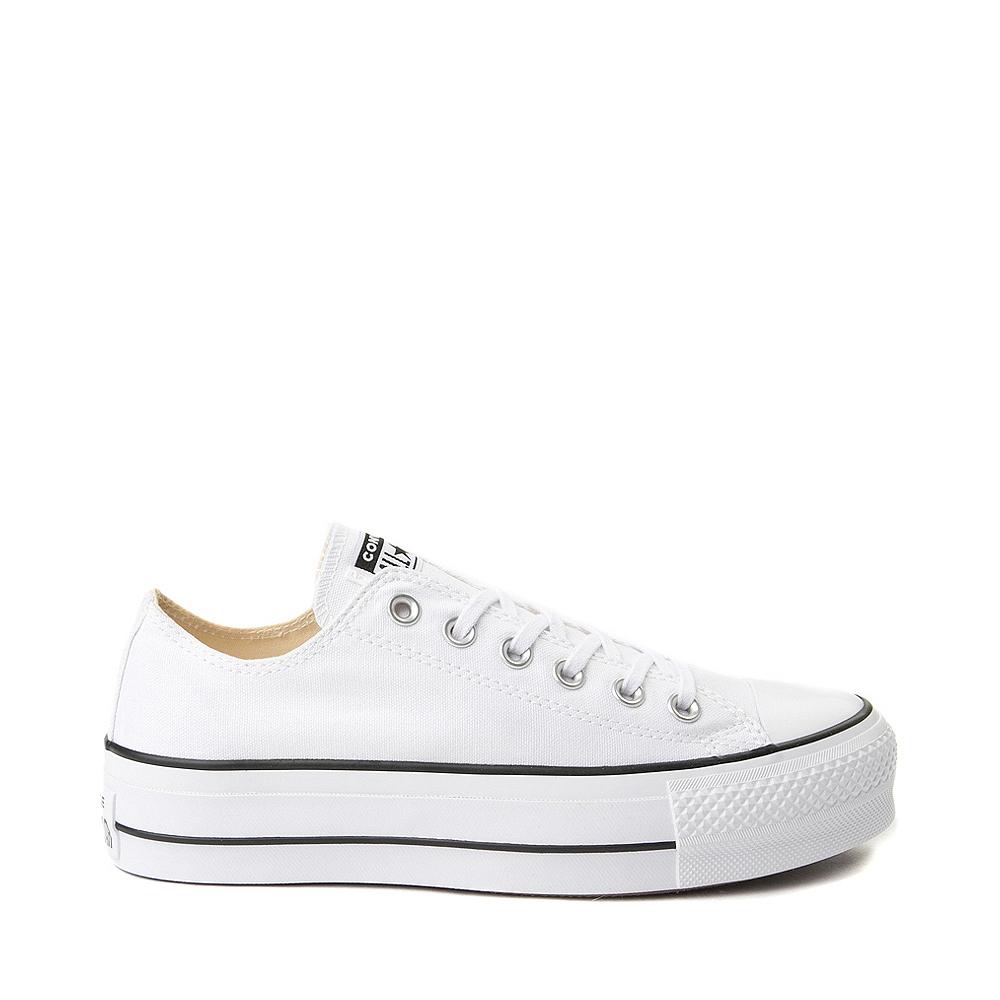 Womens Converse Chuck Taylor All Star Lo Platform Sneaker - White