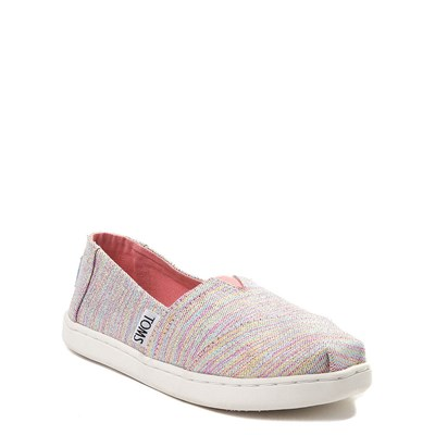Alternate view of Youth/Tween TOMS Classic Glimmer Slip On Casual Shoe