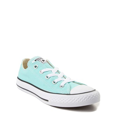 Alternate view of Youth Light Blue Converse Chuck Taylor All Star Lo Sneaker